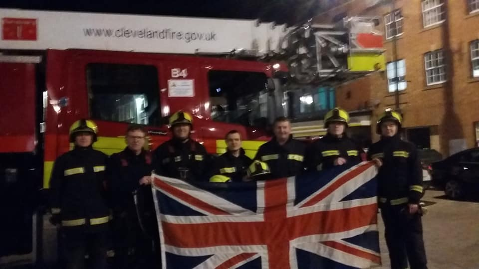 What do you do when the flag leaves the pole? Call the Fire Brigade of course.